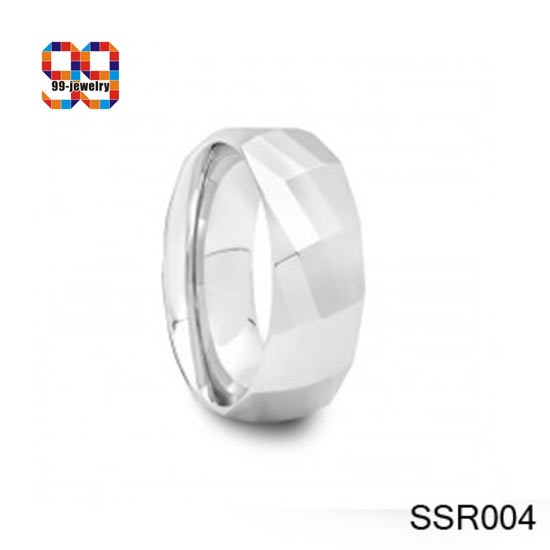 Surgical stainless steel wedding ring SSR004